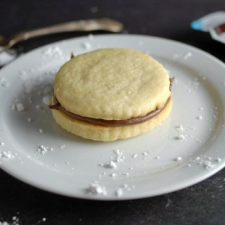 Nutella Cookie Sandwich