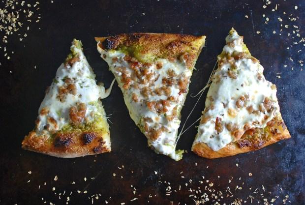 Pesto pizza 40
