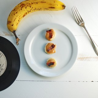 Elvis Bites – Peanut Butter Banana Bacon Bites