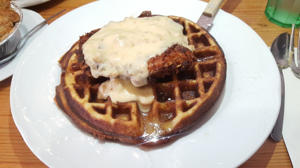 Leodas Chicken and Waffles