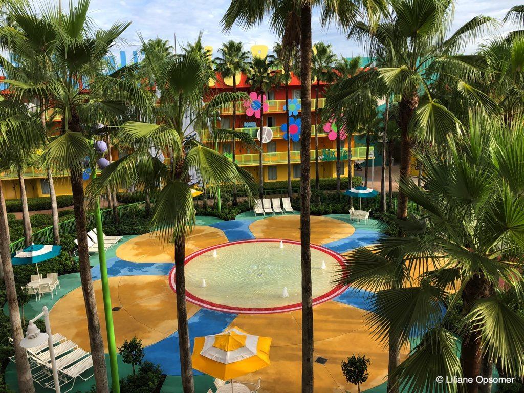 Kiddie pool Pop Century