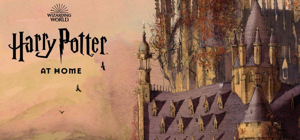 Harry Potter at Home Hogwarts Castle