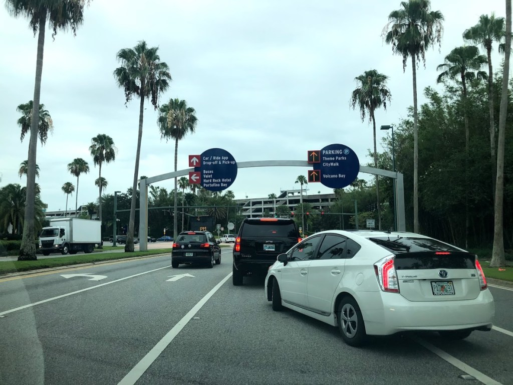 Universal Orlando Theme Parks Reopened parking