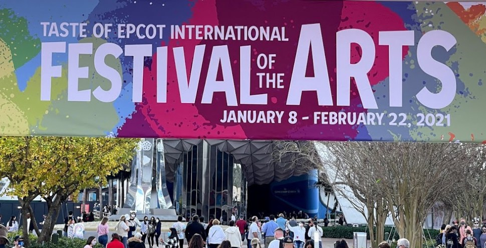 2021 Epcot Festival of the Arts featured