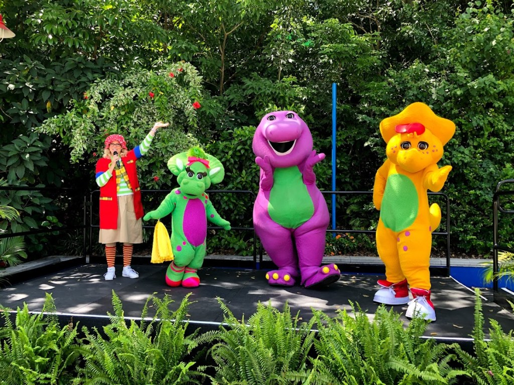 A Day in the Park with Barney closed character meet and greet
