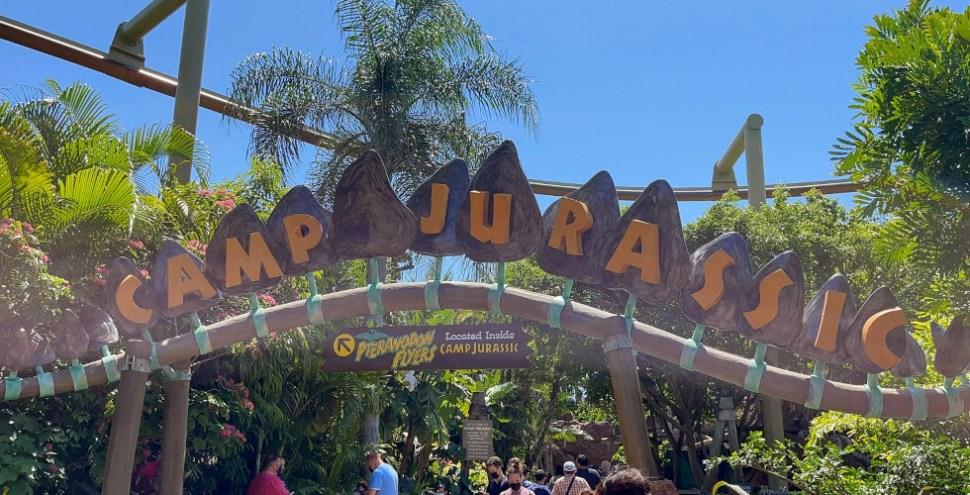 Camp Jurassic featured