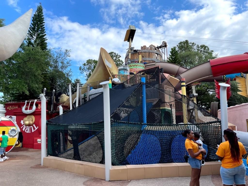 Fievel's Playland climbing structure Universal Studios Florida KidZone