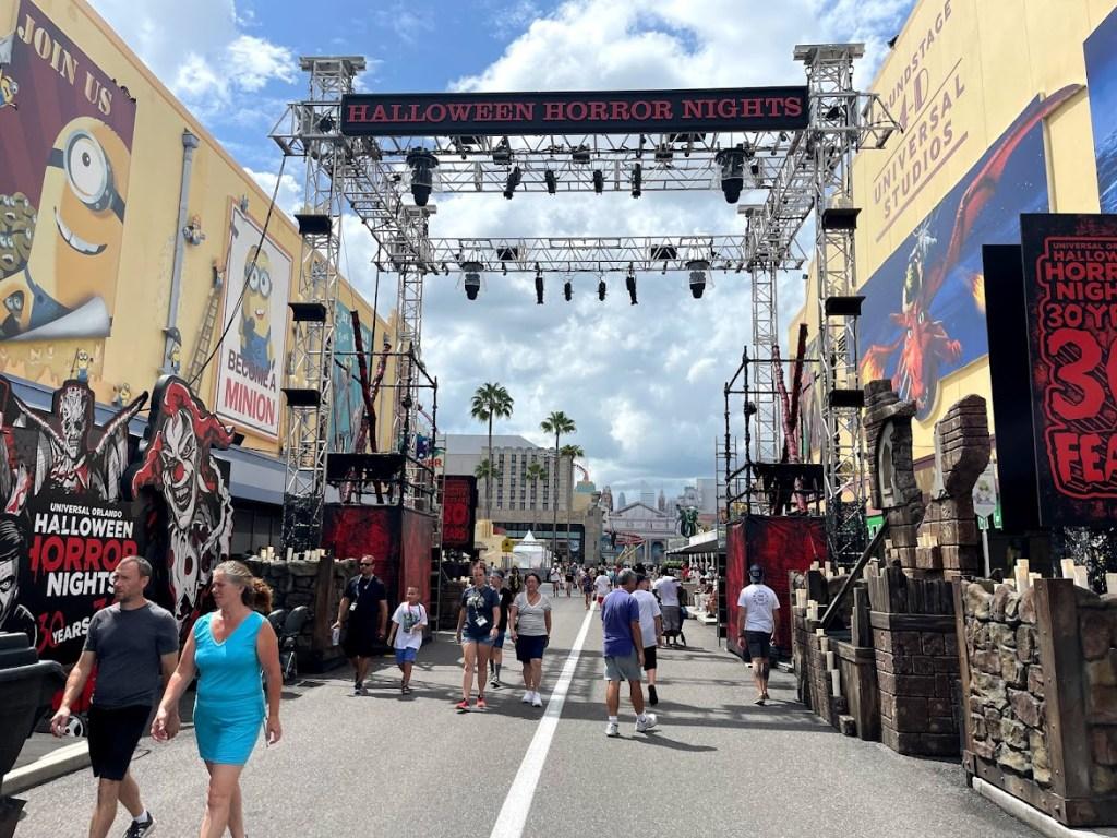 Halloween Horror Nights 30 at Universal Studios Florida scarezone