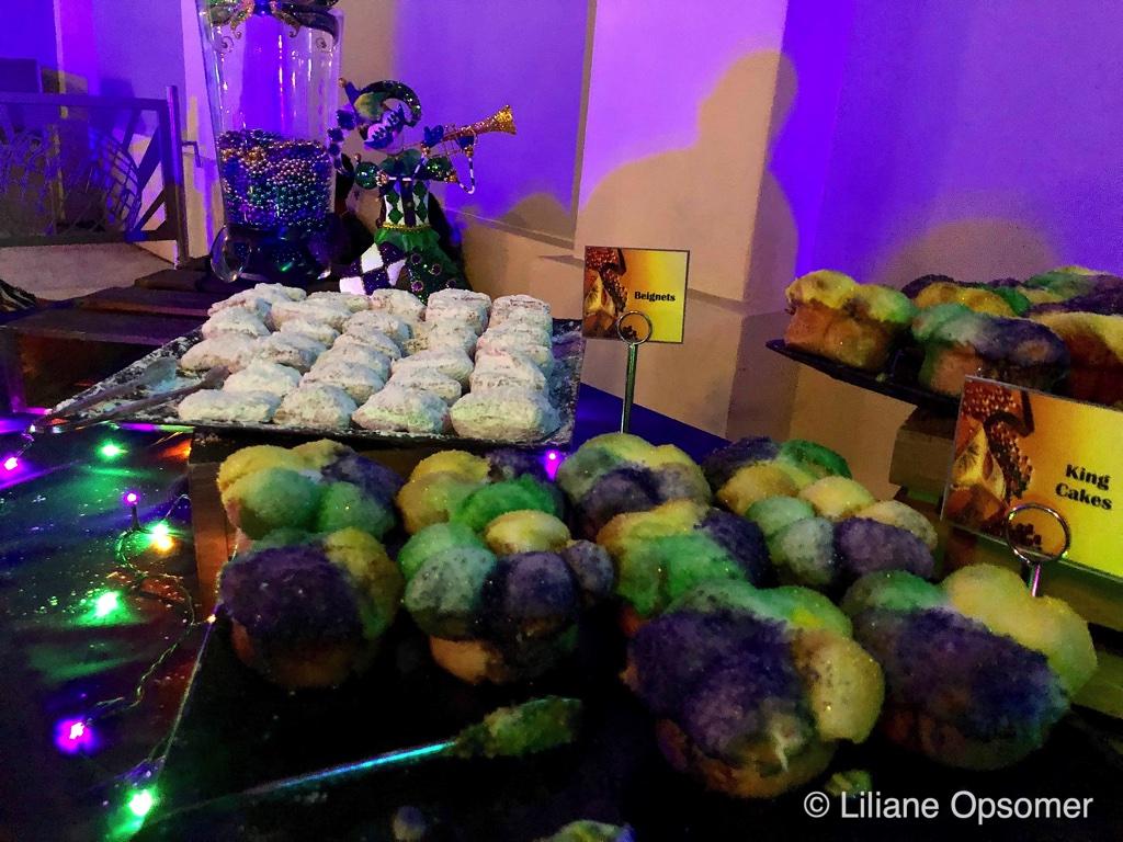 Universal Orlando Mardi Gras 2020 dessert