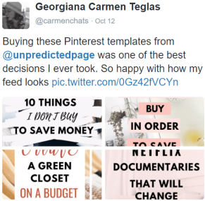 pinterest templates review