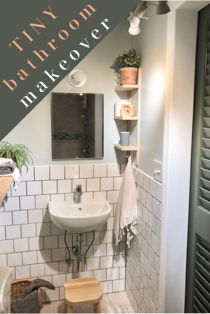 Making The Most Of A Small Attic Bathroom Diy Makeover Unprofessional