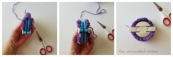 yarn pom pom tutorial