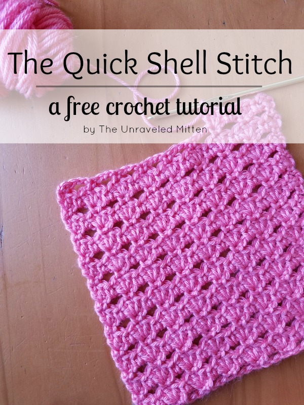 The Quick Shell Stitch: A Crochet Tutorial