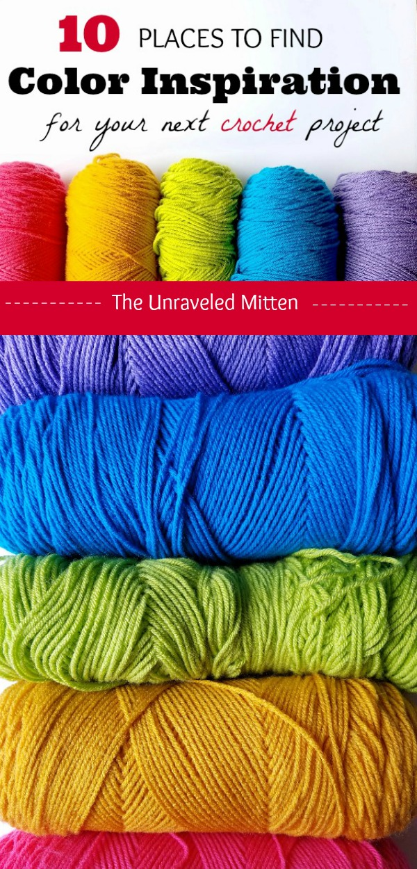 Finding Color Inspiration for Your Next Crochet Project | The Unraveled Mitten