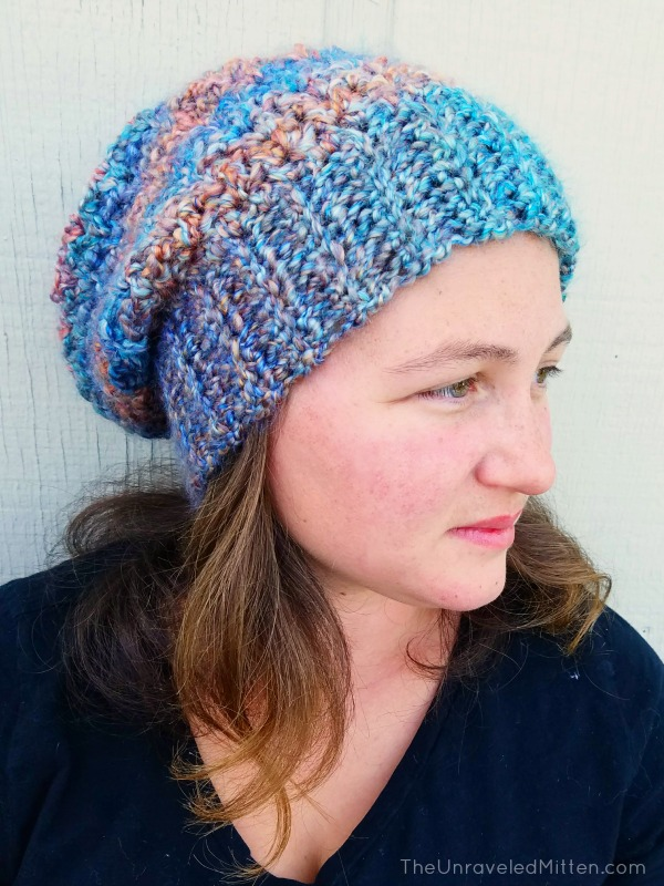 Color Tour Slouchy Hat   Free Crochet Pattern   The U