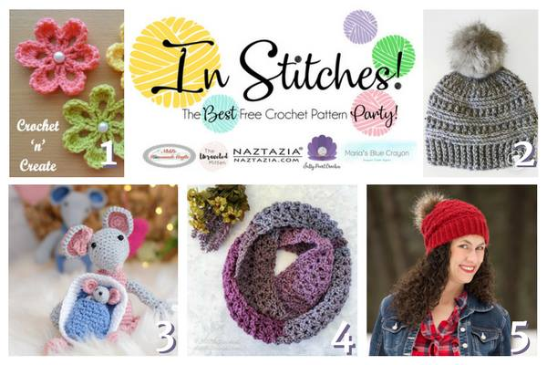 In Stitches Best Free Crochet Pattern Party Winners Round Up