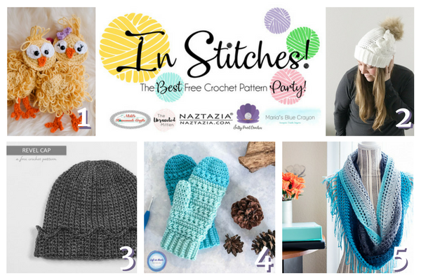 In Stitches Free Crochet Pattern Party #3