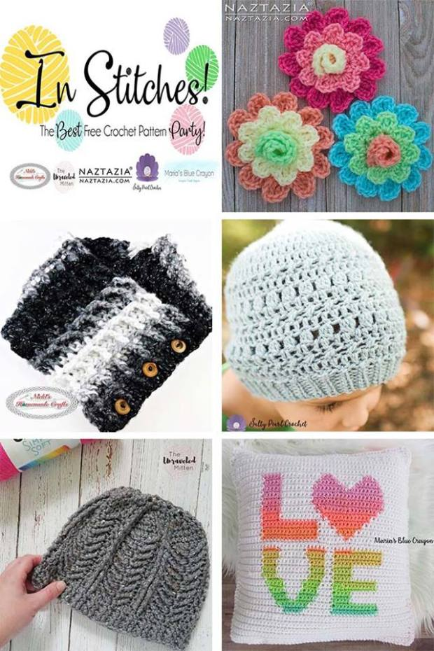 In Stitches #1 | The Best Free Crochet Pattern Party
