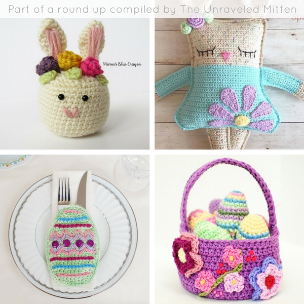 8 Free Easter Crochet Patterns The Unraveled Mitten