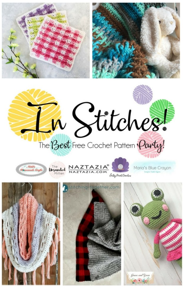In Stitches: Best Free Crochet Pattern Party #6 | The Unraveled Mitten | Spring Crochet Patterns