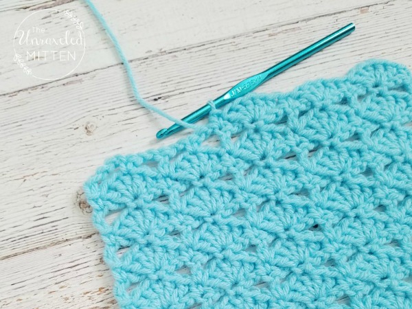 Balanced Shell Stitch | Crochet Tutorial | The Unraveled Mitten
