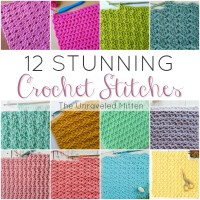 12 Stunning Crochet Stitches