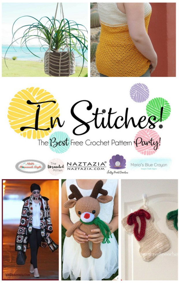 In Stitches : Best Free Crochet Pattern Party #15