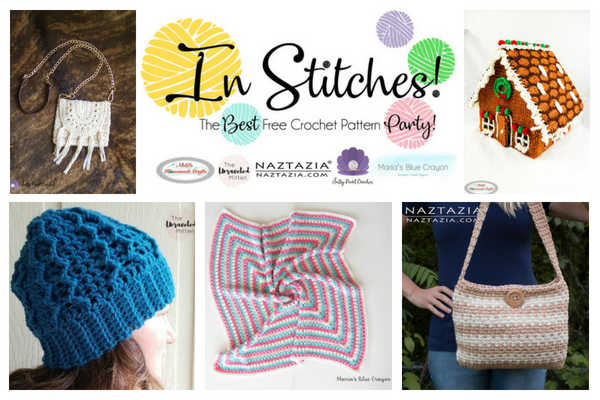 In Stitches #14 | Free Crochet Patterns from your hosts. | The Unraveled Mitten