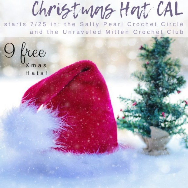 Christmas in July Hat Crochet Along 2018