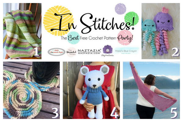 In Stitches Best Free Crochet Pattern Party #16 | The Unraveled Mitten