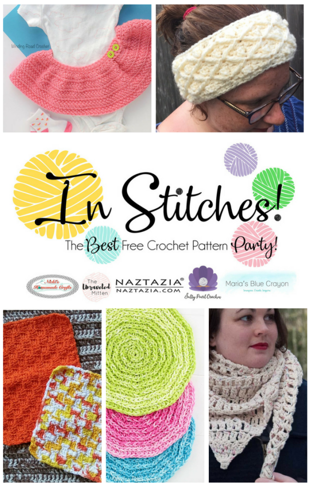 In Stitches #17 | Free Crochet Pattern Link Party | The Unraveled Mitten