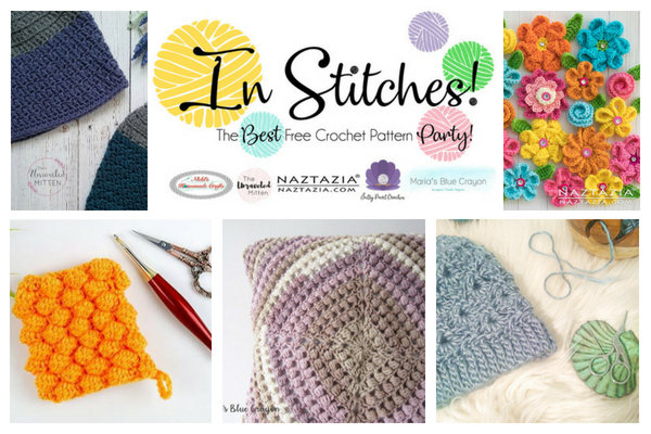 In Stitches Best Free Crochet Patterns from your Party Hosts | The Unraveled Mitten