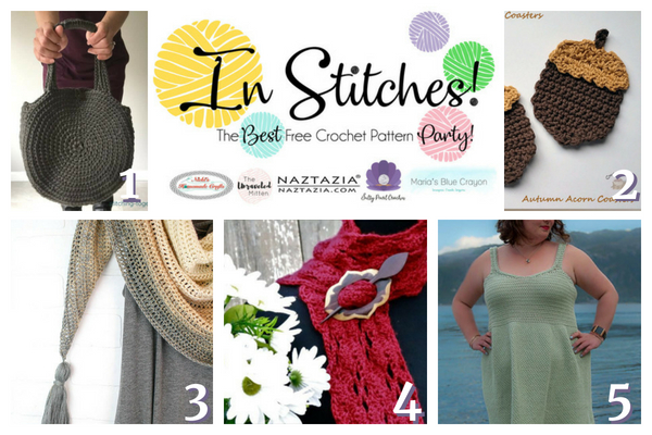 In Stitches Free Crochet Pattern Party #18 | The Unraveled Mitten
