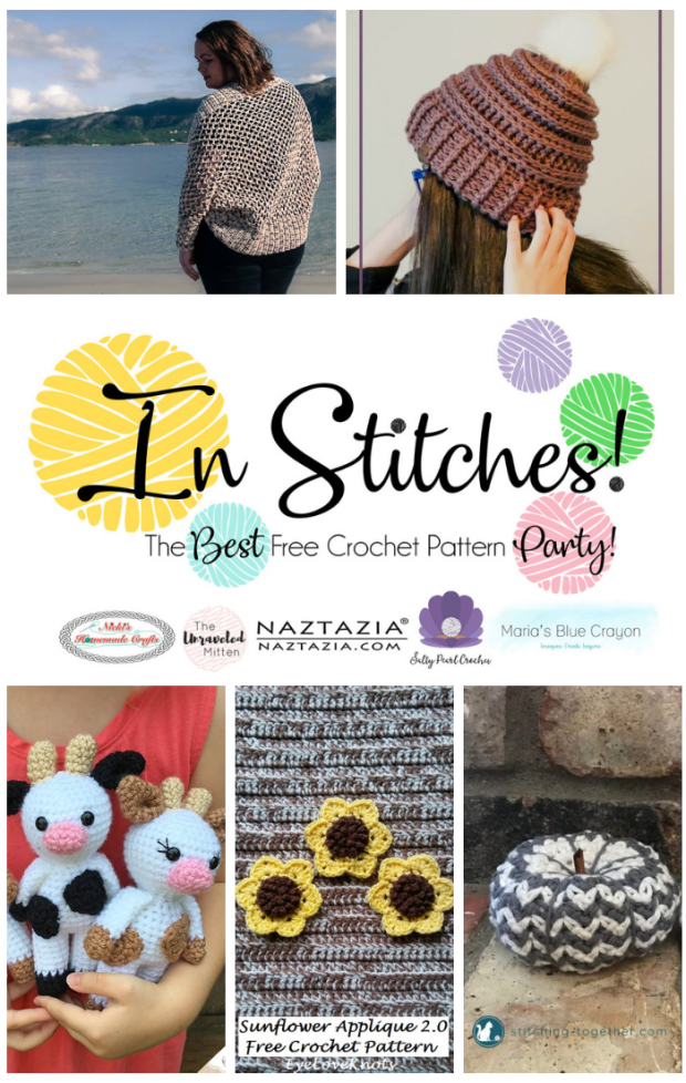 In Stitches Free Crochet Pattern Party | The Unraveled Mitten