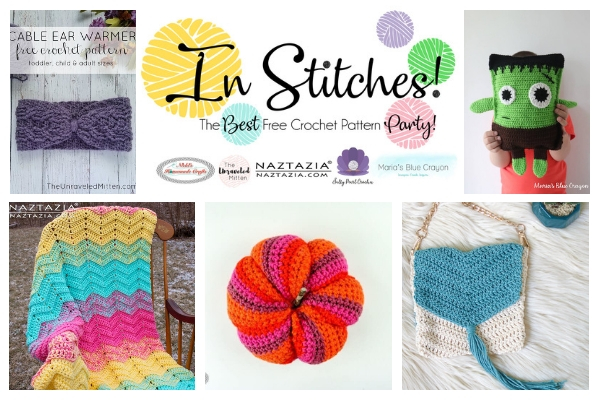 Best Free Crochet Pattern Party #19 | The Unraveled Mitten