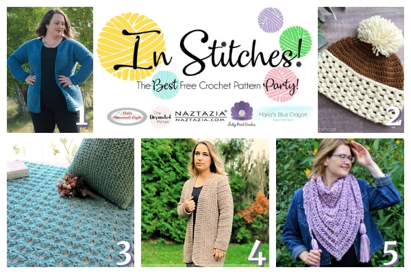 In Stitches #21 | Free Crochet Pattern | The Unraveled Mitten