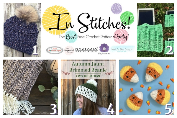 In Stitches #22 | Free Crochet Patterns | The Unraveled Mitten | Fall Crochet Patterns