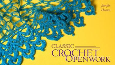 Learn crochet lace and openwork with this online class
