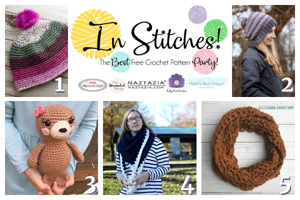 In Stitches #24 | Free Crochet Pattern Link Party | The Unraveled Mitten