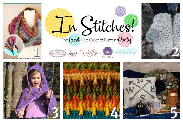 In Stitches #28 | Free Crochet Pattern | Crochet Link Party | The Unraveled Mitten