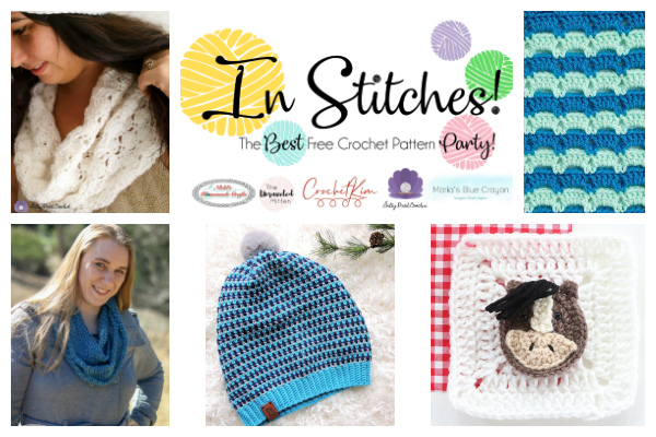 In Stitches #30   Best Free Crochet pattern Party   The Unraveled Mitten