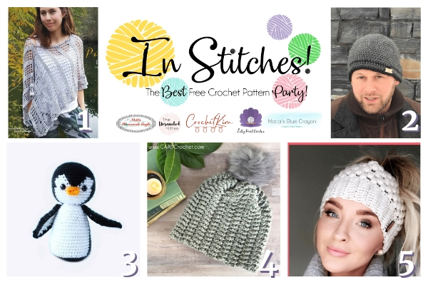 In Stitches #31 Best Free Crochet Pattern Link Party | The Unraveled Mitten