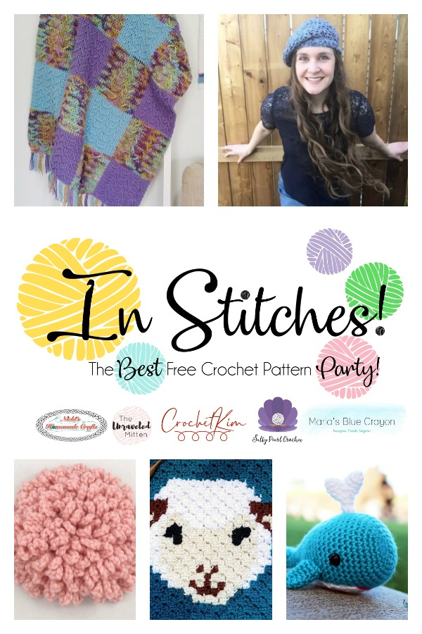 In Stitches #35 | The Unraveled Mitten | Click to see the latest free crochet patterns from across the web. Designers: Join out crochet pattern link party!