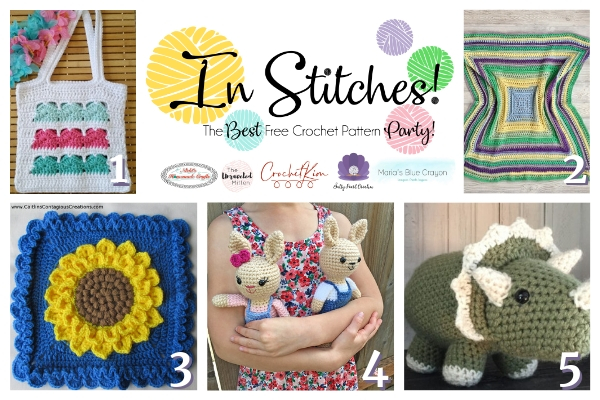 In Stitches #34 | Free Crochet Pattern Link Party | The Unraveled Mitten