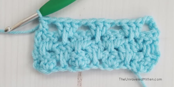 Granny Spike Stitch | The Unraveled Mitten