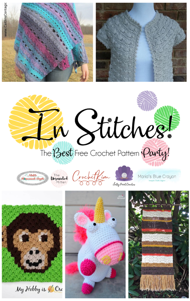In Stitches #37: Best Free Crochet Pattern Link Party