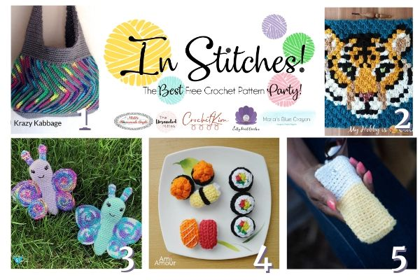 In Stitches #39 | Free Crochet Pattern Party | The Unraveled Mitten