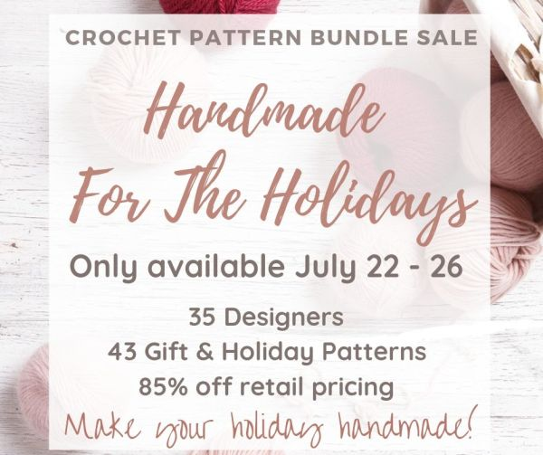 Handmade for the Holidays Crochet Pattern Bundle
