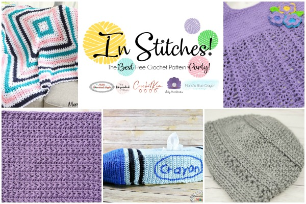 In Stitches #40 | Free Crochet Pattern Link Party