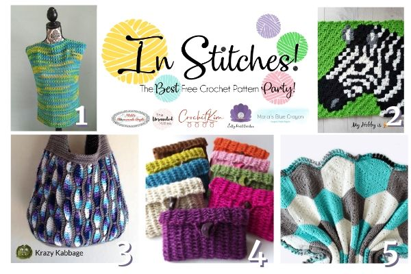 In Stitches Crochet Pattern Link Party #42